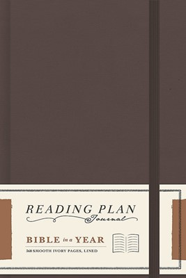 Bible In A Year Reading Plan Journal (Hard Cover)