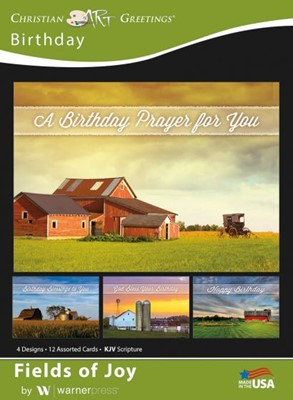 Boxed Greeting Cards - Birthday Fields of Joy (Cards)
