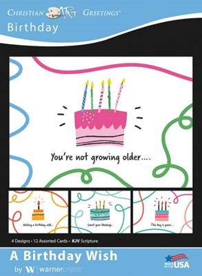 Boxed Greeting Cards - A Birthday Wish (Cards)
