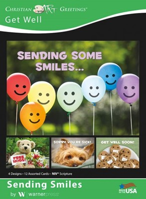 Boxed Greeting Cards - Get Well - Sending Smiles (Cards)