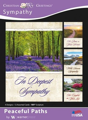 Boxed Greeting Cards - Sympathy - Peaceful Paths (Cards)