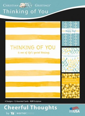 Boxed Greeting Cards - Thinking of You - Cheerful Thoughts (Cards)