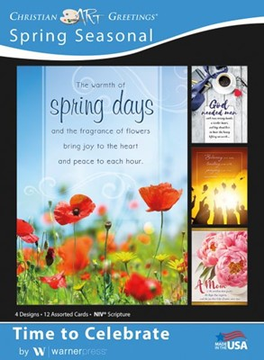 Boxed Greeting Cards - Spring Seasonal - Time to Celebrate (Cards)