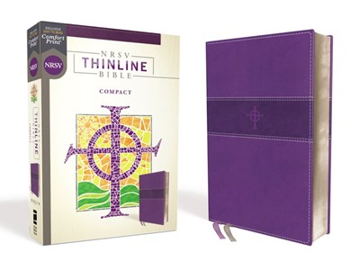 NRSV Thinline Bible, Compact, Purple (Imitation Leather)