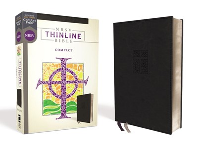 NRSV Thinline Bible, Compact, Black (Imitation Leather)