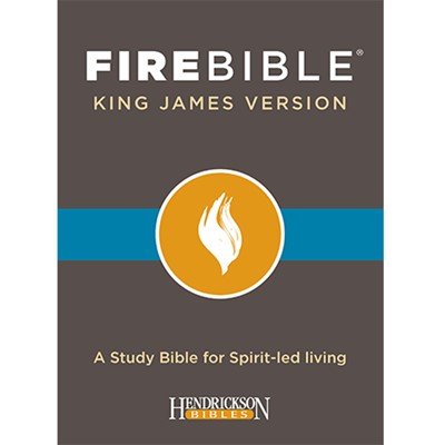 KJV Fire Bible, Black Bonded Leather (Bonded Leather)