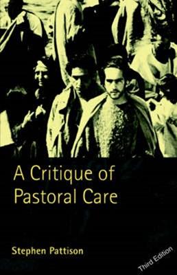 Critique of Pastoral Care (Paperback)