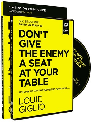 Don't Give the Enemy a Seat at Your Table Study Guide & DVD (Paperback w/DVD)