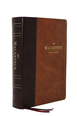 ESV MacArthur Study Bible, 2nd Edition, Brown (Imitation Leather)