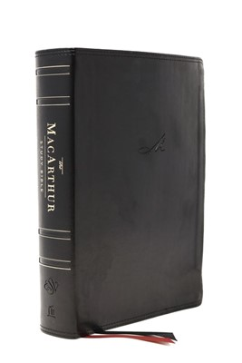 ESV MacArthur Study Bible, 2nd Edition, Black, Indexed (Imitation Leather)