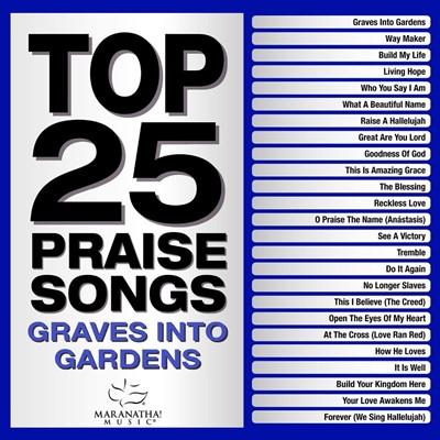 Top 25 Praise Songs: Graves into Gardens 2CD (CD-Audio)