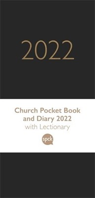 Church Pocket Book and Diary 2022, Black (Hard Cover)