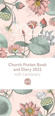 Church Pocket Book and Diary 2022, Pink Flowers (Hard Cover)
