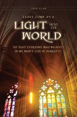 Light into the World Bulletin (pack of 100) (Bulletin)