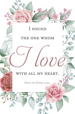 I Found the One Wedding Bulletin (pack of 100) (Bulletin)