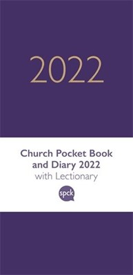 Church Pocket Book and Diary 2022, Purple (Hard Cover)