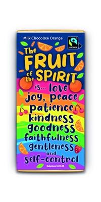 Fruit Of The Spirit Milk Chocolate Orange Bar (General Merchandise)