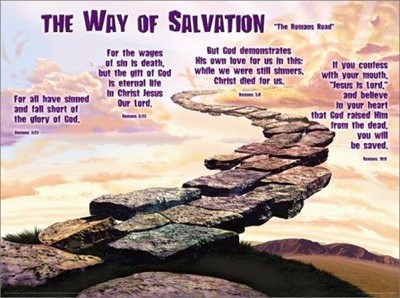 The Way of Salvation Chart (Poster)