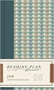 Job Reading Plan Journal (Hard Cover)