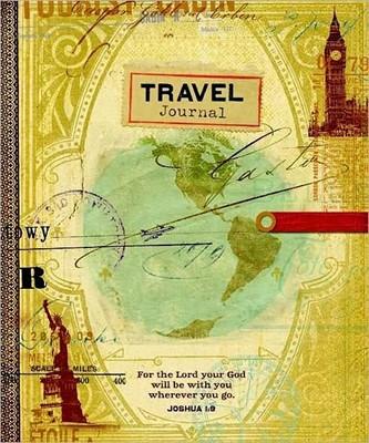 Travel Journal - Joshua 1:9 (Hard Cover)