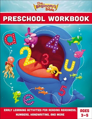 The Beginner's Bible Preschool Workbook (Paperback)