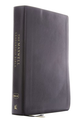 NKJV Maxwell Leadership Bible, Compact, Black (Imitation Leather)
