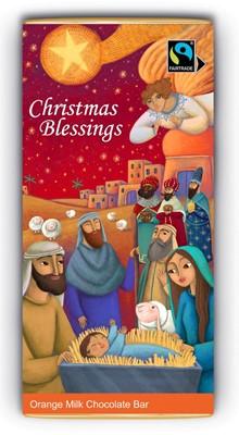 Christmas Blessings Orange Milk Bar (Single) (General Merchandise)
