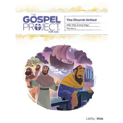 Gospel Project: Older Kids Activity Pages, Spring 2021 (Paperback)