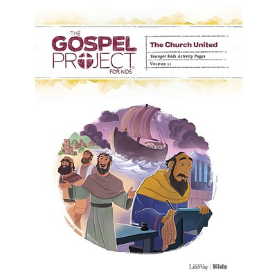 Gospel Project: Younger Kids Activity Pages, Spring 2021 (Paperback)