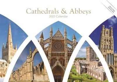 2022 Calendar: Cathedrals and Abbeys (Calendar)