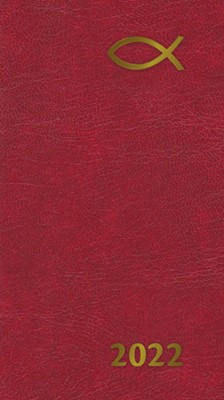 Senator Slim 2022 Diary 13 Month: Red (Diary)