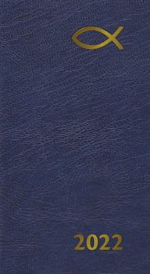 Senator Slim 2022 Diary 13 Month: Blue (Diary)
