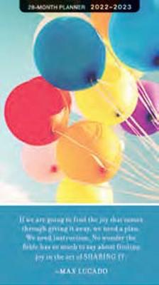 2022-2023 28 Month Planner: Max Lucado (Paperback)