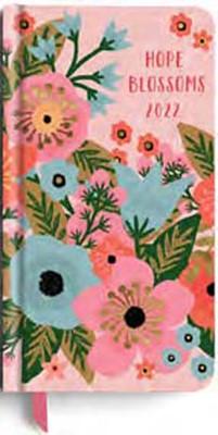 2022 Premium Pocket Planner: Blossoms (Hard Cover)