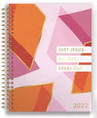 2022 18 Month Planner: Just Jesus (Spiral Bound)