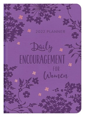 2022 Planner: Daily Encouragement for Women (Imitation Leather)