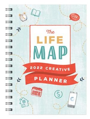 2022 Life Map Creative Planner (Spiral Bound)