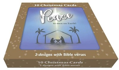Silhouettes Christmas Card Box (pack of 10) (Cards)