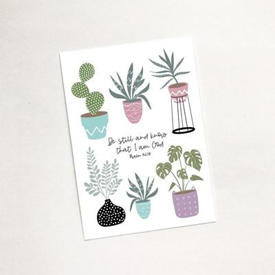 Be Still (House Jungle) - Mini Card (Cards)