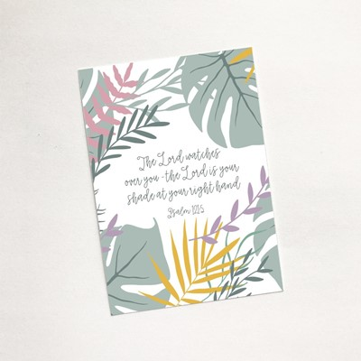 The Lord Watches (Jungle Pink) - Mini Card (Cards)