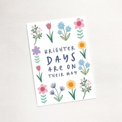 Brighter Days (Spring) - Mini Card (Cards)
