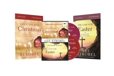 Case for Christmas / Case for Easter Study Guides with DVD (Paperback w/DVD)