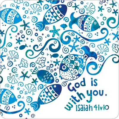 God is With You Coaster (General Merchandise)