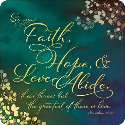 Faith, Hope, Love Coaster (General Merchandise)