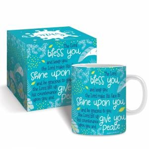 Bless You (teal) Mug & Gift Box (General Merchandise)