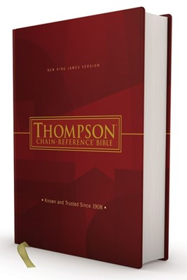 NKJV Thompson-Chain Reference Bible, Red Letter (Hard Cover)