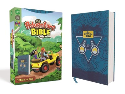 NIrV Adventure Bible for Early Readers, Blue (Imitation Leather)
