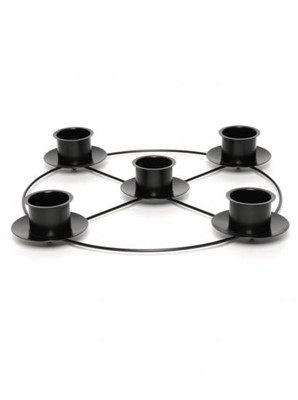 Black Advent Ring 14