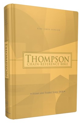 KJV Thompson Chain-Reference Bible, Red Letter (Hard Cover)