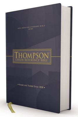 NASB Thompson Chain-Reference Bible, Red Letter, 1977 Text (Hard Cover)